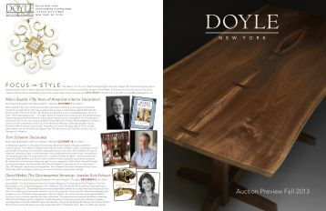 Auction Preview Fall 2013 - Doyle New York
