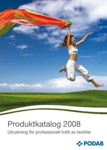 Produktkatalog 2008 - Podab