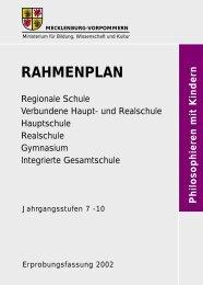 Rahmenplan Philosophieren mit Kindern - Bildungsserver ...
