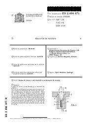 2094671 . RR - Oficina Española de Patentes y Marcas