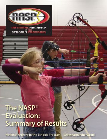 The NASP® Evaluation: Summary of Results - Iowa Department of ...