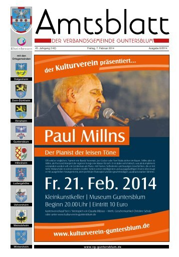 Freitag, 07.02.2014 Ausgabe 6/2013 - Verbandsgemeinde ...