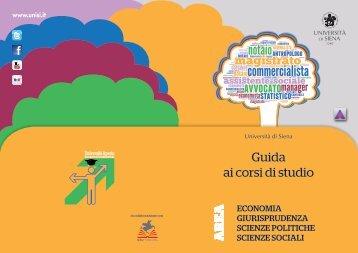 scarica la Guida - Unisi.it - Università degli Studi di Siena