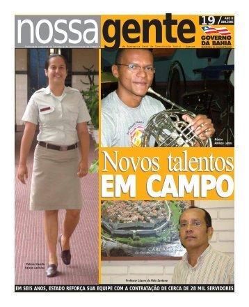 Abril - Governo da Bahia