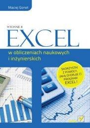 Excel w obliczeniach naukowych i inżynierskich ... - Czytelnia - Helion