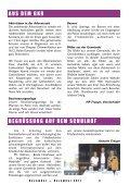 Ökumene leben Adventsbasar Ehrenamt – das Zugpferd unserer ... - Seite 5