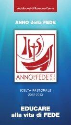 Anno della Fede - Scelta Pastorale 2012-2013 - Webdiocesi