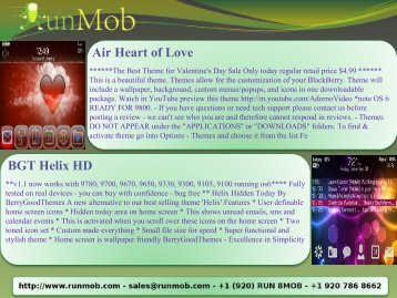 Air Heart of Love BGT Helix HD - RunMob