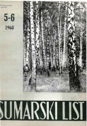 ÅUMARSKI LIST 5-6/1968