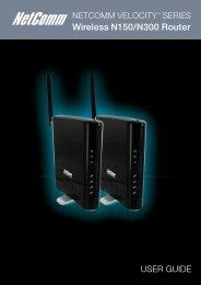 User Guide - NetComm Wireless