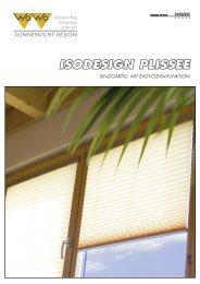 isodesign plissee einzigartig: mit easy-clean-funktion - Wo&Wo;