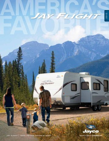 2012 Jayco Jay Flight Brochure 1 - Glenwood RV Centre