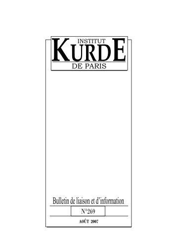 juillet_FR_269_2007:Bull. FR.mars 252.qxd - Institut kurde de Paris