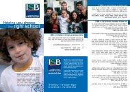 the right school - International School of Brussels