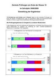 Darstellung der Ergebnisse im PDF-Format.