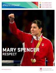 MARY SPENCER - Canadian Olympic School Program