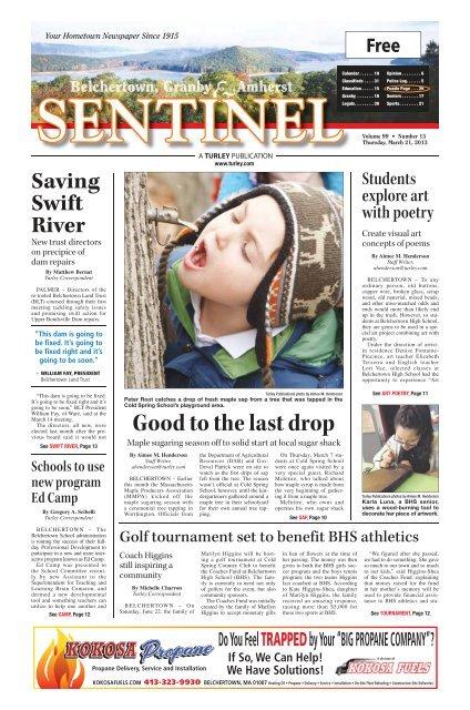 March 21, 2013 PDF Edition - The Sentinel