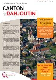 CANTON DE DANJOUTIN - Territoire de Belfort