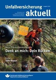 Unfallversicherung aktuell - Kommunale Unfallversicherung Bayern