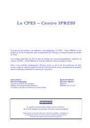 du CPES - Centre IPRESS - L'Etudiant