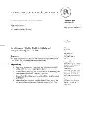 HU-Briefbogen 1.0 - Medienkommission - Humboldt-Universität zu ...