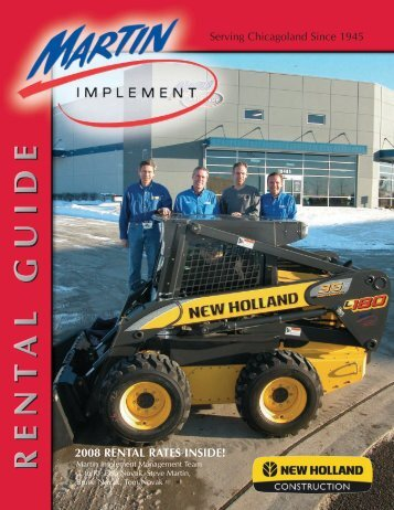 RENTAL GUIDE - Martin Implement
