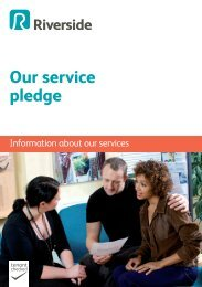 Our service pledge leaflet - Riverside