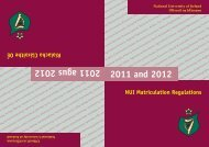 2011 and 2012 2011 agus 2012 - National University of Ireland