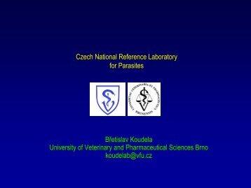 Czech National Reference Laboratory for Parasites Břetislav ...