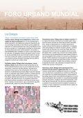 FORO URBANO MUNDIAL - UN-Habitat - Page 3
