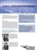 FORO URBANO MUNDIAL - UN-Habitat - Page 5
