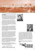 FORO URBANO MUNDIAL - UN-Habitat - Page 7