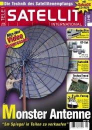 Die Satellitenkombination: TELE-satellit + CD-ROM SatcoDX