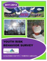 YOUTH RISK BEHAVIOR SURVEY - Guilford County Website
