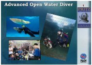 Advanced Open Water Diver - Pritz Tauchsport