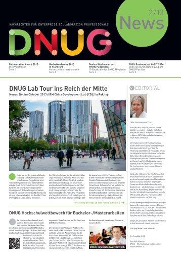 Ausgabe 22 - Juli 2013 - DNUG