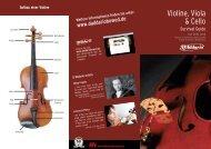Violin Viola Cello Survival Guide