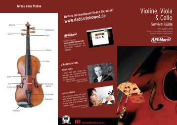 Violin Viola Cello Survival Guide