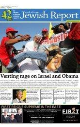 5 July 2013 - SA Jewish Report