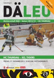 17. SCL Tigers.indd - HC Thurgau
