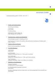 Sicherheitsdatenblatt Anti-Schaum - servomatic GmbH