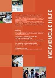 Angebote Individuelle Hilfe - Jugendagenturen Karlsruhe