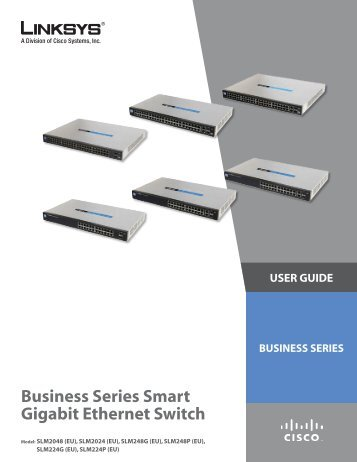 Linksys SLM224P User Guide - MyNetFone