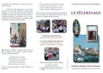 Les activités de la chapelle Sainte-Honorine - La Porte Latine