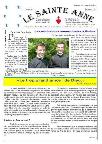 Sainte Anne n° 219 - La Porte Latine