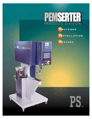 micro-mate® press - Penn Engineering & Manufacturing Corp.