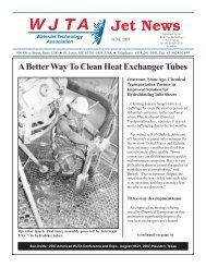 A Better Way To Clean Heat Exchanger Tubes - Waterjet ...
