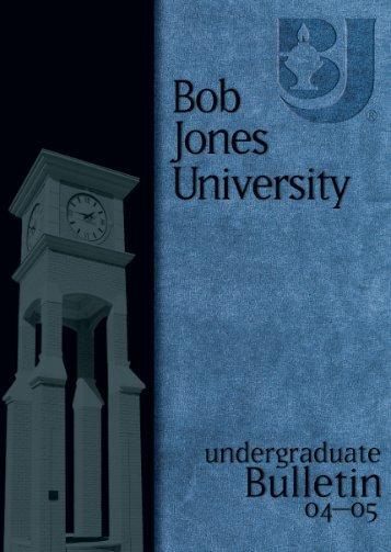ungrad 001-008. 04-05 - Bob Jones University