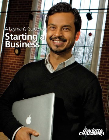 Starting a business overview - Charlotte Chamber of Commerce