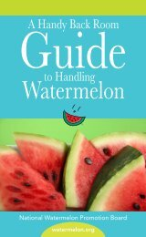 View Guide - National Watermelon Promotion Board